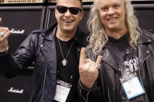 Karol and Sean Lee The Voice Mechanic at NAMM