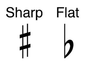 sharps and flats
